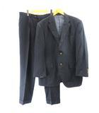 STELLABIELLA スーツ セットアップ ジャケット パンツ ストライプ 056 約L 紺 ネイビー IBO7