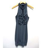 エンフォーカススタジオ EN FOCUS STUDIO ドレス フォーマル ノースリーブ ハイネック グレー12