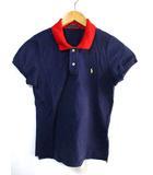 ラルフローレン RALPH LAUREN ポロシャツ カットソー 刺繍 半袖 ネイビー系 L