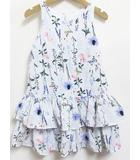 エイチ&エム H&M 花柄 ワンピース ノースリーブ フリル 116 120