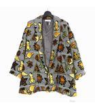 ファセッタズム FACETASM スペース ジャガード テーラード ジャケット ブルゾン 刺繍 4 グレー