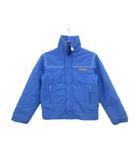 モンクレール MONCLER ski wear 子供服 ジャケット スタンドカラー 中綿 J13 青 ブルー 国内正規 /mm
