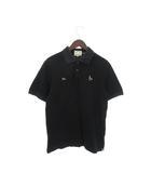 エヴィス EVISU トロイ TOROY ポロシャツ 半袖 刺繍 40 黒 ブラック /tk0312