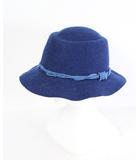 ブルーブルー BLUE BLUE 帽子 ハット ウール 青 /CY26