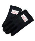 ハリスツイード Harris Tweed 手袋 グローブ チェック ロゴ 紺 /SR6 ■SM