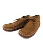 クラークス clarks ブーツ スエード 5 茶 /DH51
