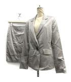 クードシャンス CdeC COUP DE CHANCE スーツ 上下 セットアップ スカート ジャケット 38  グレー /DT ●D