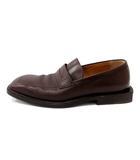 ルイヴィトン LOUIS VUITTON 靴 ローファー レザー 6.5 茶 6075 /DH38 ■CA直1