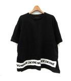 ナンバーナイン NUMBER (N)INE Tシャツ カットソー 半袖 L 黒 /DT ■CA直1