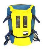 マスターピース MSPC リュックサック コーデュラナイロン 青 黄色 ブルー イエロー