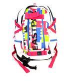イーストパック EASTPAK リュックサック デイパック 鞄 プリント 白 ホワイト