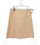 ラルフローレン RALPH LAUREN スカート ひざ丈 フレア リボン 11 ベージュ 国内正規品 /tk