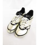 ナイキ NIKE 314449-711 靴 シューズ 24 ゴールド 黒 ブラック /☆y