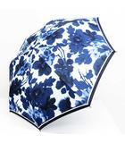 エスティローダー ESTEE LAUDER ノーブランド 折りたたみ傘 アンブレラ 晴雨兼用傘 ファッション小物 非売品 花柄 青