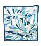 レリアン Leilian スカーフ ストール ファッション小物 花柄 シルク マルチカラー