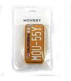 マウジー moussy スマホカバー スマホケース 総柄 オレンジベージュ サイズFREE