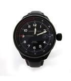 ハミルトン HAMILTON カーキ テイクオフ オート エアーツェルマット Khaki Takeoff Air Zermatt H76695733 腕時計 機械式自動巻 黒 ブラック