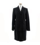 クミキョク 組曲 KUMIKYOKU スーツ ブラックフォーマル セットアップ ジャケット シングル 3B スカート ひざ丈 ブラック 黒 3