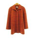 LAPINE ROUGE コート 長袖 ウール混 オレンジ 15 大きいサイズ
