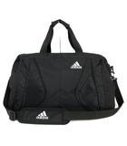 アディダス adidas ボストンバッグ ショルダーバッグ 2way ロゴ 大容量 ブラック 黒