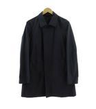 コムサメン COMME CA MEN コート ステンカラー ナイロン 紺 ネイビー M