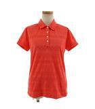 ナイキゴルフ NIKE GOLF ポロシャツ 半袖 オレンジ系 L
