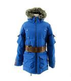 バートン BURTON ジャケット ダウンジャケット ホワイトダックダウン80% MEMBRAN 防水 ファー ブルー 青 M