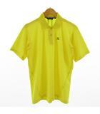 ミズノ MIZUNO ポロシャツ 半袖 ゴルフ イエロー 黄 L