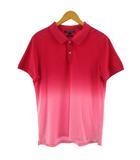 トミーヒルフィガー TOMMY HILFIGER ポロシャツ 半袖 Slim Fit グラデーション ピンク XL