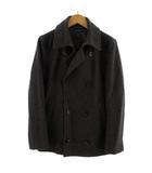 アーバンリサーチ URBAN RESEARCH コート Pコート ピーコート ウール混 日本製 グレー M