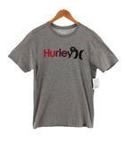 ハーレー Hurley Tシャツ 半袖 丸首 プリント ロゴ SOFT グレー M