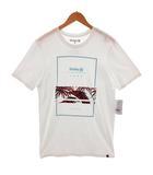 ハーレー Hurley Tシャツ 半袖 丸首 プリント ホワイト 白 M