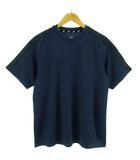 ニューバランス NEW BALANCE Tシャツ 半袖 速乾 切替 ネイビー 紺 M
