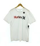 ハーレー Hurley Tシャツ 半袖 ロゴ プリント ホワイト 白 M