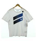 ハーレー Hurley Tシャツ 半袖 ロゴ プリント ホワイト 白 L