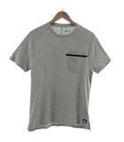リーボック Reebok Tシャツ 半袖 ロゴ ムーブTシャツ ポケT EC0726 グレー M