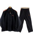 ウィルソン WILSON ウインドブレーカー 上下セット セットアップ ジャケット 長袖 パンツ ネイビー 紺 オレンジ M L