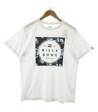 ビラボン BILLABONG Tシャツ 半袖 プリント ホワイト 白 XL