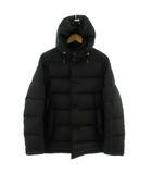 トラディショナルウェザーウェア Traditional Weatherwear ダウンジャケット フーデッド ダウン90% ブラック 黒 36