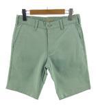 ジャーナルスタンダード JOURNAL STANDARD パンツ ショートパンツ ストレッチ グリーン系 薄緑 S