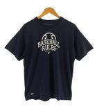 ナイキ NIKE Tシャツ 半袖 丸首 野球 BASEBALL ドライフィット DRY-FIT ネイビー 紺 M