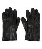 クロエ CHLOE グローブ 手袋 レザー ブラック 黒 21cm