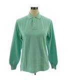 ラルフローレン RALPH LAUREN ポロシャツ 長袖 ポニー刺繍 グリーン系 ペパーミントグリーン M