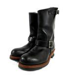 レッドウィング REDWING ブーツ エンジニアブーツ 2268 レザー ベルト ブラック 黒 US9 27cm