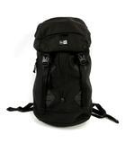 リュックサック デイパック 鞄 ナイロン ロゴ ブラック 黒