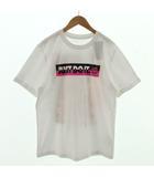 ナイキ NIKE Tシャツ 半袖 丸首 JUST DO IT バックプリント ホワイト 白 マルチカラー M