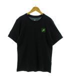 ナイキ NIKE Tシャツ 半袖 丸首 バックプリント ブラック 黒 マルチカラー M