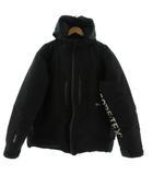 ステューシー STUSSY ダウンジャケット GORE-TEX PRODUCTS ダウン90% 700-FILL フーディー ロゴ ジップアップ ブラック 黒 ホワイト 白 M