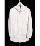 キーレッド KIRED コート スプリング フード 48 白 ホワイト ahm0422