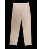 マーガレットハウエル MARGARET HOWELL 18SS パンツ スラックス ロング 1 ベージュ /mm0502